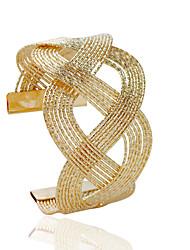 povoljno -Žene Široke narukvice Moda Legura Tube Shape Jewelry Nakit odjeće