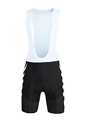 baratos -ILPALADINO Bermudas Bretelle Homens Moto Calções Bibes Calças Primavera Verão Lycra Roupa de Ciclismo Tapete 3D Secagem Rápida A Prova de