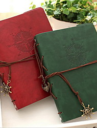 Недорогие -кожаный континентальный ретро-пиратский корабль матрос-вкладыш дневник дневник