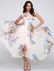 cheap -Women's Flowing Bohemia Chiffon Long Dress