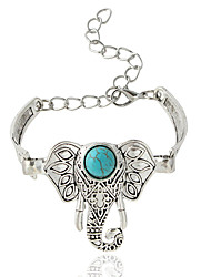 cheap -Women's Chain Bracelet - Animal Bohemian Bracelet Silver For