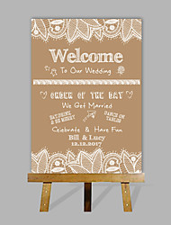 cheap -Signature Frames & Platters Paper Garden Theme WeddingWithPattern Wedding Accessories