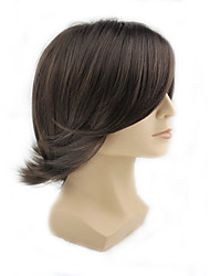 cheap -Synthetic Wig Wavy Synthetic Hair Wig Men's / Women's Capless