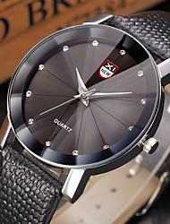 Business Quartz Watch Men outdoor Sport Watches Men Corium Crocodile Leather Strap wristwatch clock hours Complete Gift
