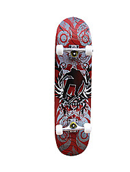 31-дюймовый Полное скейтборды Офис клен ABEC-7-Красный Синий