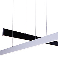 Modern Led Pendant Light L120cm Naturally White 40Watt Painting Feature for LED Metal Dining Room / Study Room/Office