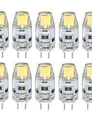cheap -10PCS G4 LED COB 300-350LM Warm White/Cool White/Natural White Decorative / Waterproof DC12V  LED Bi-pin Lights
