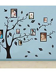 Huge Size Family Tree Photo diy pvc wall sticker vintage posters mural decor brick wallpaper