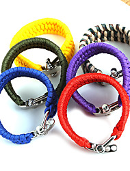 cheap -Beadia 1Pc Whistle Life-saving Bracelet & Survival ParaCord Bracelet Christmas Gifts
