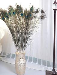 1 Ast Polyester Kunststoff andere Boden-Blumen Künstliche Blumen