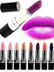 1PCS Popfeel New 20 Colors Sexy Matte Full Coverage Long Lasting 24 Hours Not Rub Off Waterproof Lipstick Lip Stick