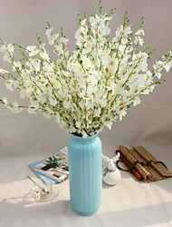 abordables -1 1 Une succursale Polyester / Plastique Autres Arbre de Noël Fleurs artificielles 37inch/94cm
