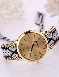 cheap -Women's Quartz Bracelet Watch Casual Watch Fabric Band Bohemian Fashion Multi-Colored