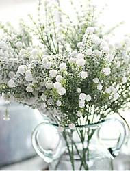 Недорогие -1 Филиал Полиэстер Пластик Перекати-поле Букеты на стол Искусственные Цветы