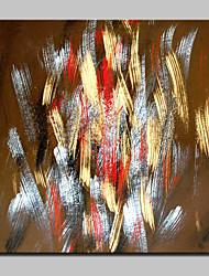 Недорогие -ручная роспись современных абстрактных холст маслом картины настенного искусства для домашнего декора с растянутой рамкой, готовой повесить