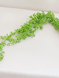 Недорогие -1 1 Филиал Полиэстер / Пластик Pастений / Другое Цветы на стену Искусственные Цветы 39.37inch/100cm