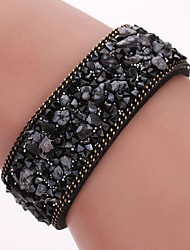 cheap -South Korea Plush Microfiber Fine Bracelet, Natural Crystal Bracelet