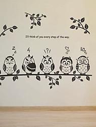 abordables -Bande dessinée Stickers muraux Stickers avion Stickers muraux décoratifs,PVC Matériel Amovible Décoration d'intérieur Wall Decal