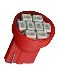 economico -10x t10 rosso w5w 2825 158 168 192 921 906 8-SMD LED strumento tachimetro
