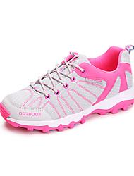 LEIBINDI Sneakers Hiking Shoes Running Shoes Women's Anti-Slip Anti-Shake/Damping Wearproof Outdoor Low-Top Breathable Mesh Perforated EVA