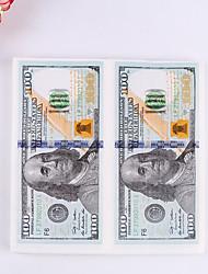 100% virgin pulp 20pcs Dollar Wedding Napkins