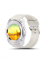 Round screen smart watch IPS screen GPS Take photos micro card camera phone positioning Watch