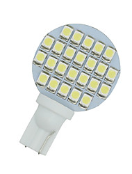 cheap -2 X Cool White T10 Wedge RV Landscaping 24-SMD LED Light Lamps W5W 921 168 194