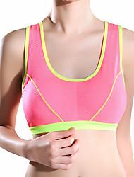 abordables -Aux femmes Soutien-gorge Soutien-gorge Sport Sans couture Grand Maintien - Couleur Pleine