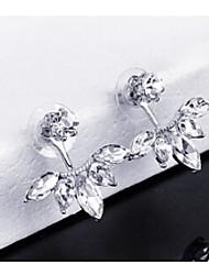 abordables -pendientes de aleación pendientes de boda / fiesta 1 par elegante estilo