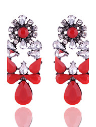 cheap -New Arrival Europe Style Retro Acrylic Resin Water Drop Shape Dangle Earrings For Women Party Jewelry