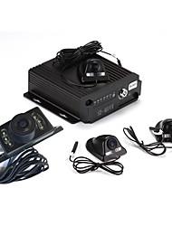 SW - 0001 - 360 - ciclo gradi panoramica di 4 notti monitor video veicolo di parcheggio macchina fotografica di visione
