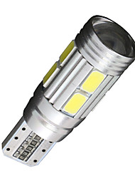 2x Canbus Wedge T10 White 192 168 194 W5W 10 5630 SMD LED Light Lamp Bulb Error Free 12V