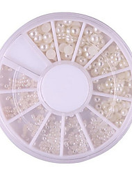 abordables -1pcs Bijoux à ongles Classique perle Haute qualité Quotidien Nail Art Design