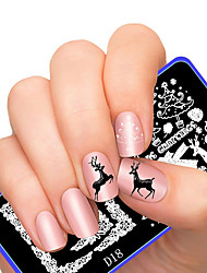 cheap -1 pcs Template Classic Nail Art Design Daily / Metal