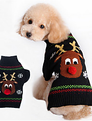 cheap -Dog Sweater Dog Clothes Cotton Costume For Pets Men's Women's Keep Warm