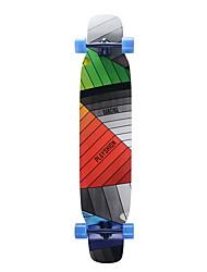 abordables -Planche à roulettes longboards Planches à roulettes standard Erable Arc-en-ciel