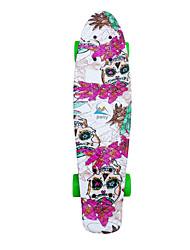 Cruisers Skateboard Planches à roulettes standard Professionnel PP (Polypropylène) Fleur
