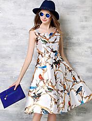 donne maxlindy di uscire / cocktail / annata vacanza / via chic / sofisticata linea di un abito