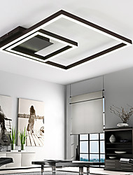 cheap -Linear Flush Mount Ambient Light - Dimmable, LED, 90-240V, Warm White / White, LED Light Source Included / 20-30㎡ / LED Integrated
