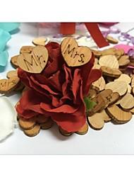 Legno Decorazioni di nozze-100Pezzo/Set Primavera Estate Autunno Non personalizzatoÈ di grande aiuto se vuoi decorare la tua cerimonia di