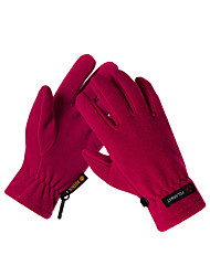 cheap -Bike Gloves / Cycling Gloves Ski Gloves Men's Women's Keep Warm Canvas Fleece Ski / Snowboard