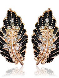 cheap -Alloy Earrings Stud Earrings Wedding/Party 1 pair Elegant Style