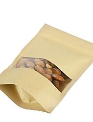 Недорогие -пятна бумажные мешки риса зерна проса орехи сушеные фрукты мешки пакет из десяти окон