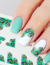 cheap -1 Nail Jewelry 3D Nail Stickers Classic Daily High Quality Nail Art Design