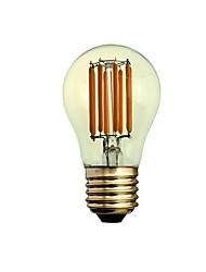 E26/E27 Ampoules à Filament LED A50 8 COB 300-450 lm Blanc Chaud 2200-2700 K Intensité Réglable Décorative AC 100-240 V