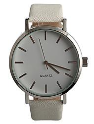 abordables -Mujer Reloj de Pulsera Gran venta / / PU Banda Casual / Moda Blanco
