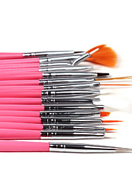 cheap -15pcs/set  Nail Art UV Gel Painting Drawing Liner PensDIY Design Nail Decoration Tools