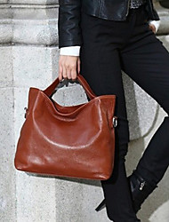 preiswerte -Damen Taschen PU Tragetasche für Veranstaltung / Fest Einkauf Normal Ganzjährig Schwarz Braun Rot