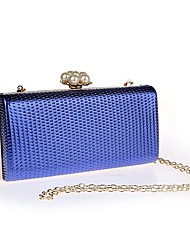 Women Clutch PU Event/Party Gold Black Silver Ruby Blue