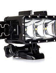 Spot Light LED Waterproof Housing Case Built-in Flash ForGopro 5 Gopro 3 Gopro 2 Gopro 3+ Gopro 1 Sports DV SJ4000 SJ5000 SJ6000 SJCAM